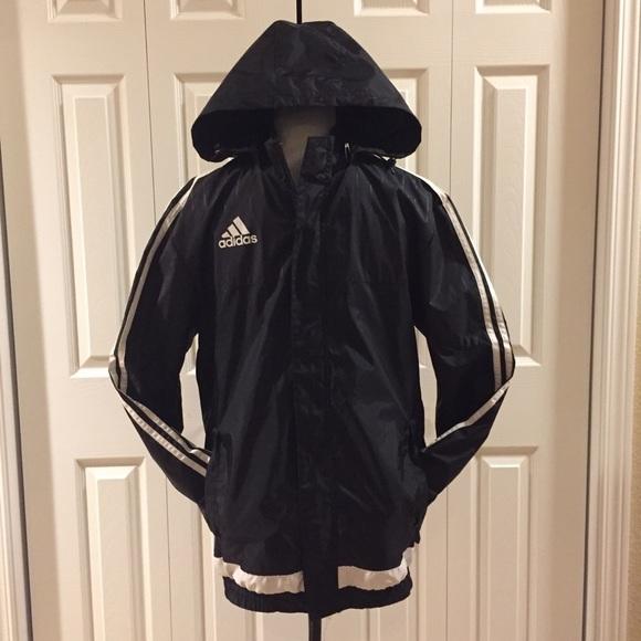 be539f831 adidas Jackets & Coats   Tiro 15 Soccer Rain Jacket Windbreaker ...